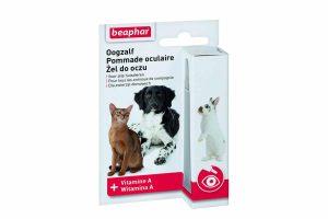 Beaphar oogzalf is op basis van vitamine A speciaal ontwikkeld voor uw huisdier. Het is erg vervelend wanneer uw huisdier last heeft van zijn/haar ogen. Wanneer oogleden of oogbindweefsel geïrriteerd of beschadigd is, biedt deze oogzalf een uitkomst.