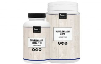 De Frama Duivelsklauw extra fijn is een plantaardig pijnstiller. De duivelsklauw is een woestijnplant. De wortelstok bevat harpagoside. Harpagoside is een ontstekingswerende en pijnstillende stof.
