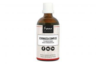 De Frama Echinacea Complex gaat verminderde weerstand en ontstekingen tegen. Het is een humaan bekend gebruikt product. Het middel wordt al erg lang gebruikt om de weerstand te verhogen in periode van griep en verkoudheid.
