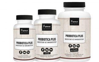 De Frama Probiotica Plus ondersteunt de darmflora en het immuunsysteem. Door een gezonde darmflora is er meer weerstand tegen ontstekingen, allergieën etc.