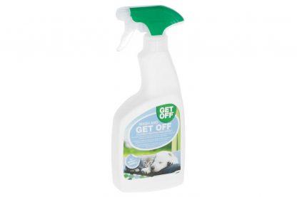 Wash & Get Off reinigt eerst de door uw huisdier bevuilde plek. Daarna neutraliseert het de urinegeur om zowel herhaaldelijke bevuiling af te schrikken, als de door uw huisdier gemaakte vlekken te verwijderen.