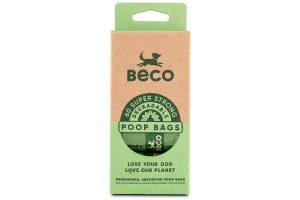 De Beco Bags poepzakjes zijn biologisch afbreekbaar. Deze zakjes zijn geschikt voor de meeste dispensers. Deze milieuvriendelijke oplossing draagt bij aan een gezond ecosysteem. Deze zakjes breken snel af en laten geen schadelijke stoffen achter.