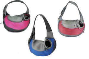 De EBI Crazy Paws Sarah is een moderne draagtas met schouderband. Hij is gemaakt van nylon en geschikt voor de kleinere honden en katten.