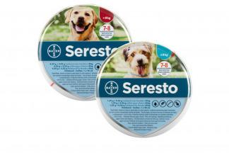 Seresto vlooienband is een innovatieve halsband welke 8 maanden lang bescherming geeft tegen vlooien en teken. Het heeft een geurloze afwerende werking welke vlooien en teken weg houdt bij uw dier.