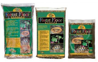 De Forest Floor is een natuurlijke bodembedekking van cipresmuls. Het geeft je terrarium een natuurlijke bosuitstraling en houdt vocht goed vast.