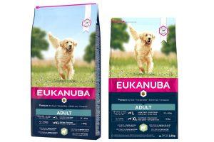 Eukanuba Adult Large Lam & Rijst is een uitstekende hondenvoer voor volwassen grote rassen met een gevoelige huid en maag. Eukanuba droogvoer in brokvorm is rijk aan lam en rijs en perfect voor volwassen honden van grote rassen.