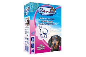 Renske Lam is een gestoomde Vers Vlees Maaltijd, voor jonge en volwassen honden van alle rassen vanaf 9 weken.