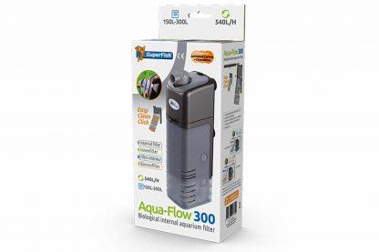 De Superfish Aqua-Flow filters zijn compact en daarmee perfect voor kleine en middelgrote tropische en koudwater aquaria. Deze filters halen de verontreinigingen uit het water en zorgen zo voor gezond en schoon water.