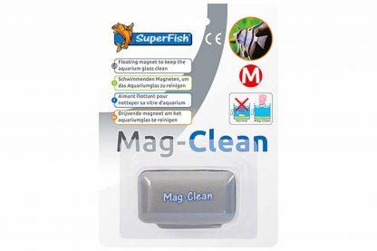 De Superfish Mag-Clean algenmagneet is een onmisbare glasreiniger voor in je aquarium. Deze handige Mag-Clean blijft bovendien drijven als de magneet loslaat en zinkt niet naar de bodem!