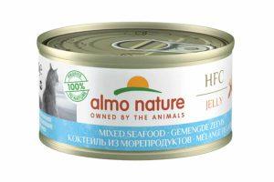 Almo Nature HFC Jelly - gemengde zeevis is een heerlijke natvoeding volgens het bekende en traditionele receptuur van Almo Nature.