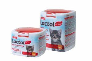 Kitty Milk is speciaal samengesteld voor moederloze kittens of kittens die niet voldoende drinken bij de moeder vanaf de geboorte.