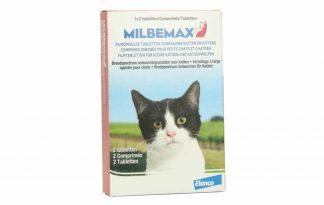 Milbemax is een ontwormingsmiddel ter preventie van parasitaire wormen zoals hart- en longworm, zweepworm, haakworm, spoelworm en lintworm.