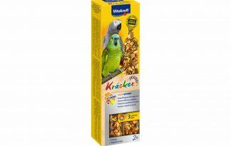De Vitakraft papegaaikracker ACE-vitamineis een speciale Kracker ter ondersteuning van de algehele gezondheid. Alle belangrijke mineralen en vitaminen worden aangevuld.