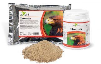 De Avian Carmix is een speciaal vitaminen- en mineralen-concentraat voor vleesetende zoogdieren, vogels en reptielen. Deze Carmix wordt al jaren gebruikt door de Nederlandse dierenparken voor hun carnivoren zoogdieren en vogels, zodat deze voldoende voeding binnen krijgen.