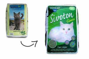 De Sivoton classic kattenbakvulling (voorheen bekend als Classy Cat kattenbakvulling) is een fijne, klontvormende kattenbakvulling. De vulling voor in de kattenbak is zeer goed absorberend en bestaat daarnaast uit natuurlijke kleikorrels.
