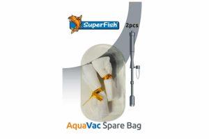 De Superfish AquaVac vervangingszakjes zijn zakjes ter vervanging voor de Superfish AquaVac aquariumstofzuiger. Deze aquariumstofzuiger maakt het reinigen en onderhoud van je aquarium eenvoudiger.