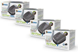 De Superfish Air-Flow luchtpomp is een ultra veilige pomp voor zuurstof verrijkt water, deze pomp is ontworpen voor aquarium gebruik. Bij iedere pomp wordt tevens een gratis reserve membraan meegeleverd, zo ben je verzekerd van een langdurig gebruik.