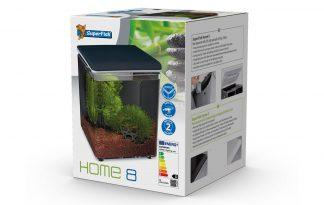 Het Home 8 design aquarium is een blikvanger in elke ruimte, van woonkamer of keuken tot in het kantoor. Deze plug-and-play aquaria zijn gemakkelijk te installeren en te onderhouden.