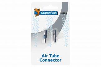 Met het Superfish luchtslang koppelstuk is het mogelijk om eenvoudig twee luchtslangen aan elkaar koppelen. Handig voor als je luchtslang te kort is.