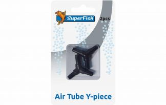 Met het Superfish luchtslang Y-stuk is het mogelijk om meerdere luchtslangen aan elkaar te koppelen. Dit kan bijvoorbeeld handig zijn voor een hogere druk of juist meer uitgangen.