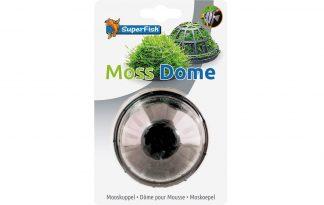 De Superfish moskoepel (Moss Dome) is een zinkende houder om mos en andere voorgrondplanten op te laten groeien. Door de houder blijft het mos op zijn plaats. Na een tijdje zal het mos zo groot worden dat deze de koepel onzichtbaar maakt.