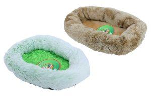 Dit knaagdierbed Soft is een comfortabel mandje voor uw kleine huisdier. Het heerlijk zachte materiaal in combinatie met de dikke rand maakt dit een fijne mand om in te slapen of even bij te komen.
