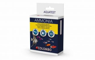De Colombo Aqua Ammonia NH3 test is een druppeltest voor het meten van het ammoniak gehalte. Vissen produceren het schadelijke ammonia wat in het aquariumfilter met behulp van nuttige bacteriën via nitriet wordt omgezet naar het onschadelijke nitraat.