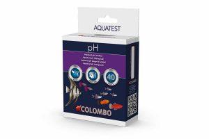 De Colombo Aqua pH Test is een druppeltest voor de precieze bepaling van de zuurgraad.Net als elk ander huisdier moet ook bij vissen de behuizing worden schoongehouden. Vissen produceren het schadelijke ammonia wat in het aquariumfilter met behulp van nuttige bacteriën via nitriet wordt omgezet naar het onschadelijke nitraat. De bacteriën in het filter hebben tijd nodig om zich te ontwikkelen