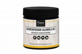 De Frama Calendula is een geconcentreerde zalf met biologische kruidenextracten. Het is een perfect EHBO middel voor uw huisdier, maar ook voor uzelf. Het ondersteunt het herstellend vermogen van de huid.