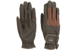 Harry's Horse rijhandschoenen Domy Suede Mesh zijn luxe handschoenen met elastische inzetten op de bewegende punten. Dit biedt een maximale bewegingsvrijheid van de handen.