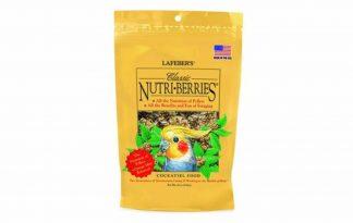 Lafeber Nutri-Berries Classic cockatiels zijn heerlijkeNutri-Berries voor parkieten en zijn ontwikkeld om het beste van twee werelden te combineren: uitgebalanceerde voeding die smaakvol is en leuk om te eten.