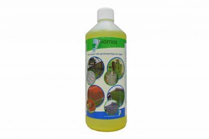 Biomos is een uiterst doeltreffend middel om op een vriendelijke manier groene aanslag van algen aan te pakken. Dit product is beschikt voor vrijwel iedere ondergrond en daardoor breed inzetbaar.