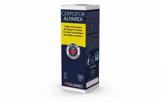 Colombo Cerpofor Alparex is werkzaam tegen onzichtbare parasieten welke een grauwsluier op de vissen veroorzaken, zoals Ichtyobodo, Chilodinella en Trichodina. Bovendien worden witte stip en schimmel effectief behandeld.