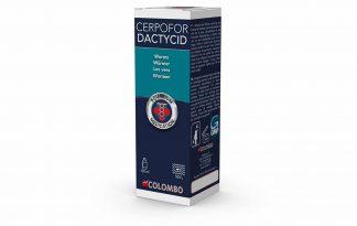Colombo Cerpofor Dactycid is werkzaam tegen inwendige en uitwendige wormen, zoals Nematoden, huidwormen (Gyrodactylus) en kieuwwormen (Dactylogyrus). De meeste wormen zijn alleen onder de microscoop zichtbaar, hoewel men sommige darmwormen uit de anus kan zien hangen.
