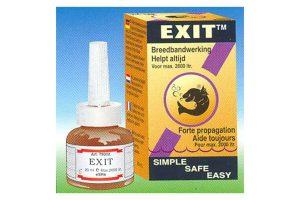 De Esha Exit is een geneesmiddel voor siervissen tegen alle stip ziekten. Exit werkt uitstekend tegen de verwekkers van de stip ziekte ichthyophthirius, maar ook tegen oodinium en import ichthyo.