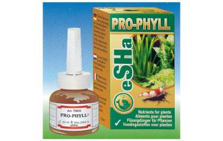 Esha Pro-Phyll verbetert de plantengroei en kleur door het verstrekken van voedingsstoffen die uw planten nodig hebben. Pro-Phyll is een hoogwaardige meststof voor uw zoetwaterplanten.