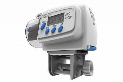 De Superfish Aqua Feeder is een computergestuurde voederautomaat, geschikt voor zowel korrels als vlokken. De eenvoudige manier om je vissen iedere dag te voeren, zelfs als je niet thuis bent.