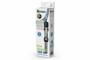 De Superfish Eco Heater 50 en 100 zijn ontworpen voor gebruik in kleine aquaria. De 50 Watt Eco Heater is slechts 17 cm lang. De Eco Heater 100 Watt is daarnaast 21 cm lang. De Eco Heaters hebben een betrouwbare thermostaat en zijn tevens voorzien van een extra lange kabel.