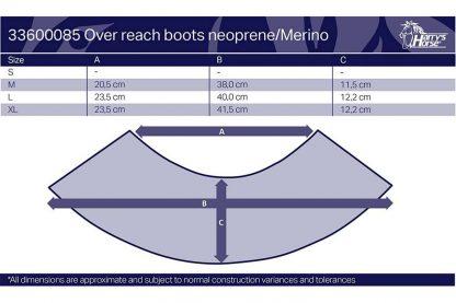 De springschoen Neoprene Merino is een nette springschoen met kunstleren (polyurethaan) buitenzijde. De schoen is voorzien van een klittenbandsluiting. De Merino wollen rand voorkomt daarnaast schuren bij de gevoelige huid in de kootholtes.