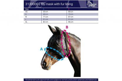 Het Vliegenmasker zonder oren is een stevig vliegenmasker om de ogen van je paard optimaal te beschermen tegen insecten. Het vliegenmasker is afgewerkt met een bontrand.