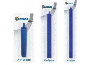Superfish Luchtsteen Lang is een langwerpige luchtsteen voor een goede doorstroming en een breder oppervlak aan lucht. De stenen luchtstenen zijn daarnaast verkrijgbaar in verschillende maten.