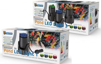 De Superfish vijver LED Light is energiebesparende LED sfeerverlichting. Daarnaast zijn de spots geschikt voor buitengebruik en onderwater gebruik. Tevens geleverd met 4 verschillende kleurlenzen om de kleur naar wens aan te passen.