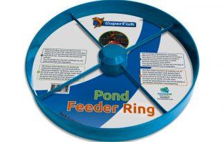 Met de Superfish Vijver Voederring is het mogelijk om zelf de eetplaats van je vissen te bepalen. Hierdoor is het mogelijk om voeren meer concentreert te maken. De voederring heeft daarnaast een diameter van 30 cm.