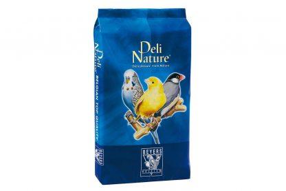 De Wilde Zaden nummer 94 zijn een mengeling op basis van onkruidzaden en groente zaden. Ideale bijvoeding voor alle vogelsoorten van kanarie tot kaketoe/papegaai. Daarnaast is het ideaal om bijvoorbeeld te mengen onder het eivoer.