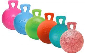 De Jolly Ball met geur is een speelbal waar je (grote) hond of paard zich uren mee kan vermaken. De bal is zelf opblazend zodat hij mooi in model blijft. Daarnaast is hij ook bijtbestendig!