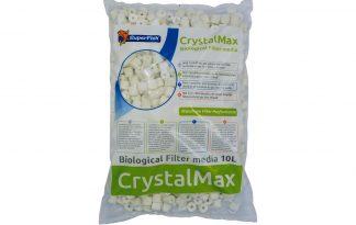 De Superfish Crystalmax is een zeer poreus filtermedium, gemaakt uit glas. Het werkt als een spons voor micro-organisme en het garandeert optimale resultaten.