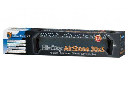 Superfish Hi Oxygen Koi Airstone zijn grijze luchtstenen, gebakken bij zeer hoge temperatuur. Daardoor produceren deze stenen zeer fijne luchtbellen en gaan ze langer mee.