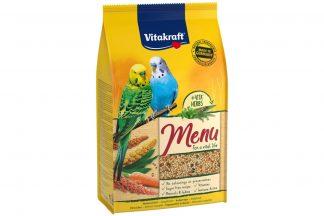De Vitakraft Premium Menu parkietenzaad is een voeding speciaal ontwikkeld voor een optimale werking van de schildklier. Dit gezonde voer met jodium zorgt voor een gezonde schildklier. Verrijkt met essentiële mineralen en vitamines.