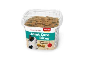 Sanal Joint Care Bites zijn een gezonde lekkernij voor uw kat ter ondersteuning van de gewrichten, voorzien van glucosamine en chondroitine.