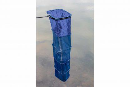 Het leefnet Futura Keepnet is een zware kwaliteit leefnet geschikt voor de commerciële visserij. Het leefnet is bovendien voorzien van een Heavy-Duty tiltsysteem en is gedeeltelijk voorzien van metalen ringen voor het makkelijk afzinken.